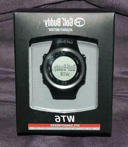 Golf Buddy WT6 Golf GPS Watch Black Range Finder BLACK - NEW