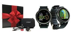Golf Buddy WTX Golf Smartwatch Gift Box Bundle | Includes Go