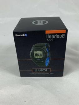 Bushnell Golf Ion 2 GPS Rangefinder Watch Black/Blue New In
