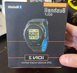 Bushnell Golf Ion 2 GPS Rangefinder Watch Black/Blue  Read