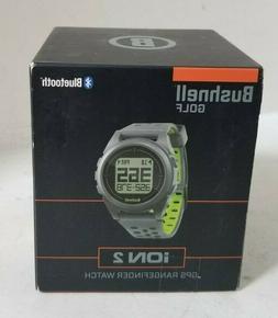 BUSHNELL Golf iON2 Bluetooth GPS Rangefinder Watch - SILVER
