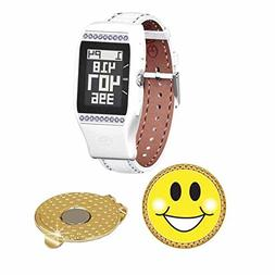 GolfBuddy LD2 Golf GPS/Rangefinder Watch with Swarovski Crys