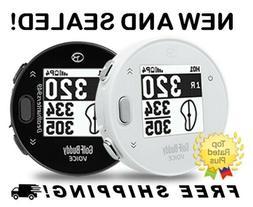 GolfBuddy Voice X Handheld Golf GPS Rangefinder Buddy Black