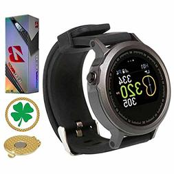 AMBA GolfBuddy WTX Golf GPS/Rangefinder Smart Watch  Bundle