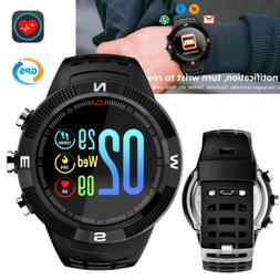 GPS Bluetooth Smart Watch Heart Rate Monitor Sports Band for