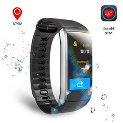 GPS Fitness Tracker Sports Watch Heart Rate Monitor Bluetoot