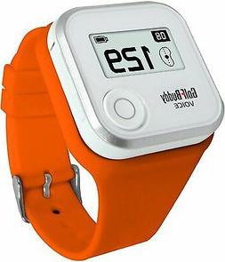GolfBuddy GPS Rangefinder Wristband  - Orange