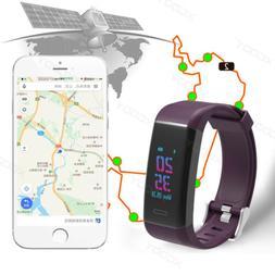 GPS Running Smart Watch Waterproof Smart Band Pedometer Acti