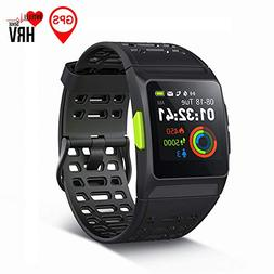 GPS Running Watch,S8 Smart Watch HRV Analysis Heart Rate/Sle