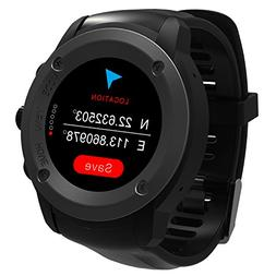 Parnerme GPS Running Watch HR Smart Outdoor Sport Watch with