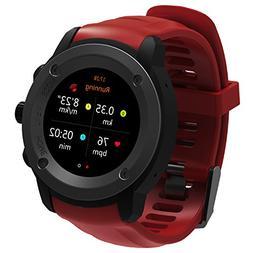 GPS Running Watch HR Smart Outdoor Sport Watch with Multi-Sp