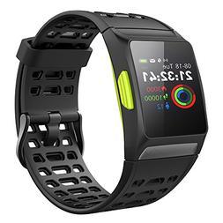 Lixada GPS Smart Sport Watch Heart Rate Monitor Indoor Outdo