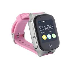 3G GPS Smart Watch Phone for Kids Elderly, KKBear Real-time