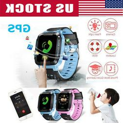 GPS Tracker- Anti-lost SOS Call Children Smart Watch For And