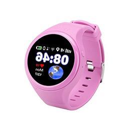 GPS Tracker Smart Watch, Waterproof SOS Two Way Conversation