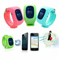 GPS Tracker SOS Call Children Smart Watch For Android IOS Ph