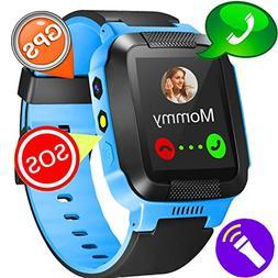 Kids Watches Boys-GBD GPS Tracker Smart Watch for Girls Summ