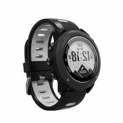 SoonCat GPS Watch for Men Running Smart Watch All Black Mili