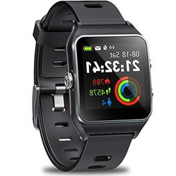 DR.VIVA GPS Watch for Men Women, Activity Tracker GPS Runnin