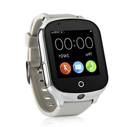 3G WiFi Phone Call GPS Smart Watch, Tycho Real-time Tracking