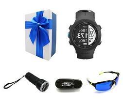 POSMA GS-GB3B Golf Triathlon Multi Sport GPS Watch Range Fin