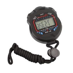 Digital Professional Handheld LCD Chronograph Timer Sports S