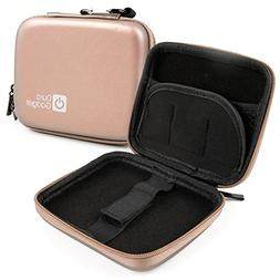 DURAGADGET Exclusive Hard Shell EVA Box-Style Case in Rose G