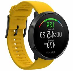 Polar Ignite GPS Fitness Watch. Yellow
