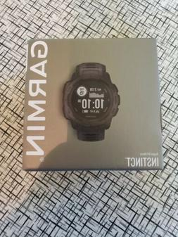 instinct rugged gps smart watch graphite new