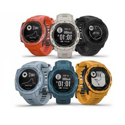 Garmin Instinct Rugged GPS Watch with Glonass Heart Rate & B
