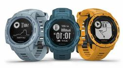 Garmin Instinct Rugged Outdoor GPS Military Watch Sunburst L