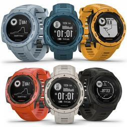 Garmin Instinct Rugged Outdoor GPS Watch | CHOOSE YOUR COLOR