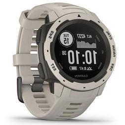 instinct rugged outdoor gps watch tundra open