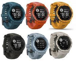 Garmin Instinct Rugged Outdoor Watch w/ GPS, GLONASS, Galile