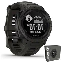 Garmin Instinct Rugged Outdoor Watch with GPS & Heart Rate M