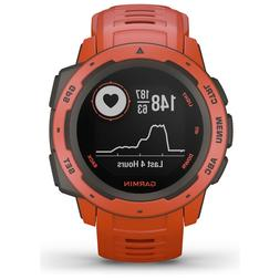Garmin Instinct, Rugged Outdoor Watch with GPS, Features GLO