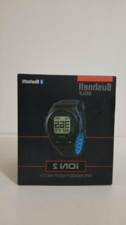 Bushnell iON 2 GPS Watch - Black/Blue BRAND NEW NEVER OPENED