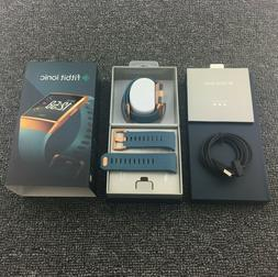 Fitbit IONIC Smartwatch Slate Blue/Burnt Orange One Size