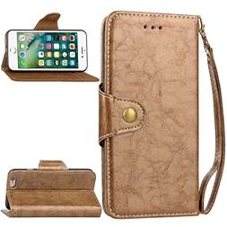 iPhone 6 Case, iPhone 6 Cover Thin Flip Cover Case Leather C