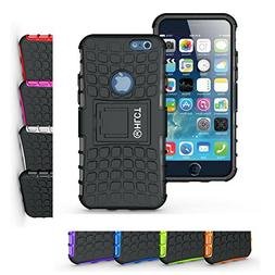 iPhone 6s and iPhone 6 Case, HLCT Rugged Non-Slip Shock Proo