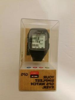 Timex Unisex TW5M11700 Ironman GPS Black Silicone Strap Watc