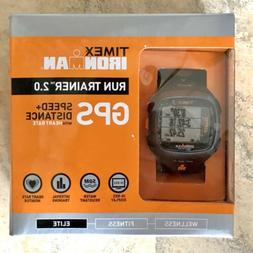 Timex Ironman Run Trainer GPS Watch Speed+Distance With Hear