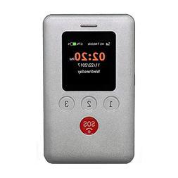 KidsConnect KC2 4G Kids GPS Tracker, Kids Cell Phone Wearabl