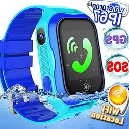 kid smart watch phone gps tracker accurate