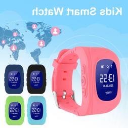 Kids Children Safe GPS LBS Activity Tracker Smart Watch Q50