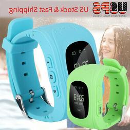 kids gps watch phone anti lost safe