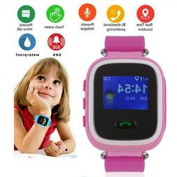 Kids Safe Anti-lost GPS Tracker SOS Call GSM Smart Watch Pho