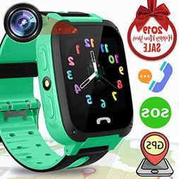 Kids Smart Phone Watch GPS Tracker - Kidaily SmartWatch for