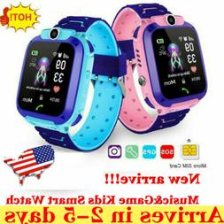 Kids Smart Watch Anti-lost Safe GPS Tracker SOS Call For And