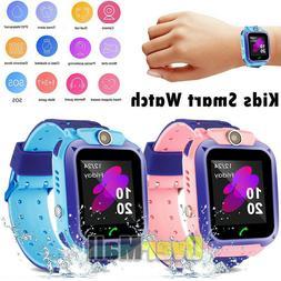 Kids Smart Watch GPS Tracker SOS CALL LBS position Camera Fl